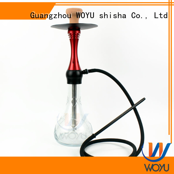fashion aluminum shisha supplier for smoking