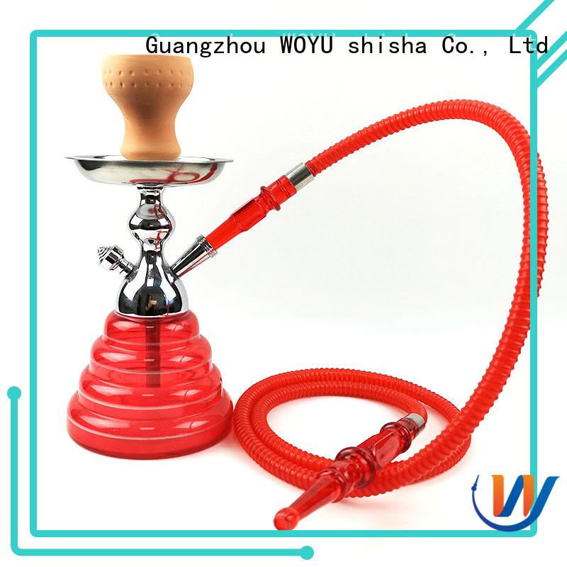 WOYU new zinc alloy shisha manufacturer for sale
