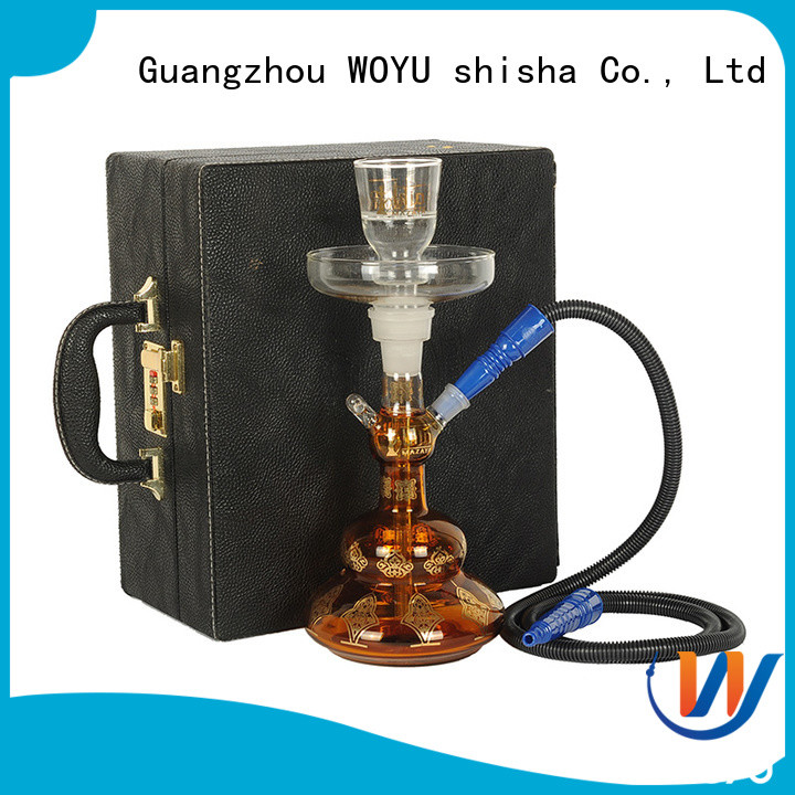 WOYU glass shisha supplier for smoker