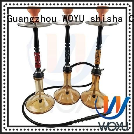 WOYU custom aluminum shisha manufacturer for smoking