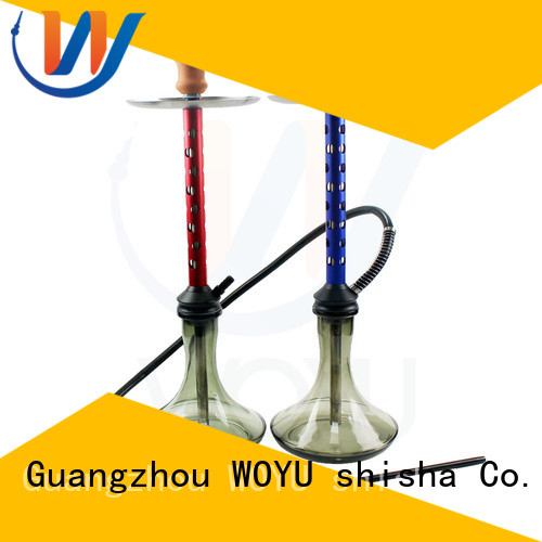 WOYU fashion aluminum shisha supplier for pastime