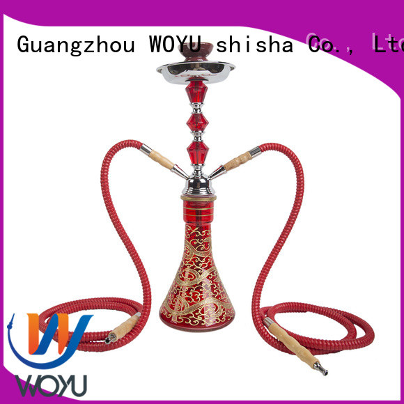 WOYU custom iron shisha manufacturer for smoking