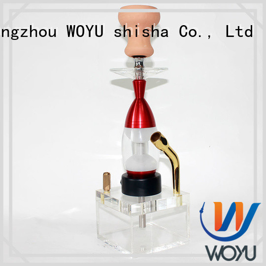 WOYU acrylic shisha products for smoker