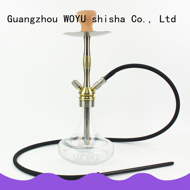 WOYU inexpensive aluminum shisha one-stop services for clubs