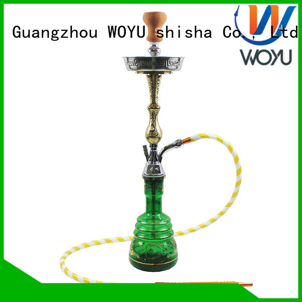 WOYU custom zinc alloy shisha manufacturer for sale