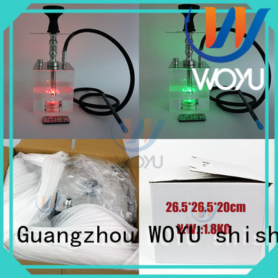new acrylic shisha manufacturer for smoker