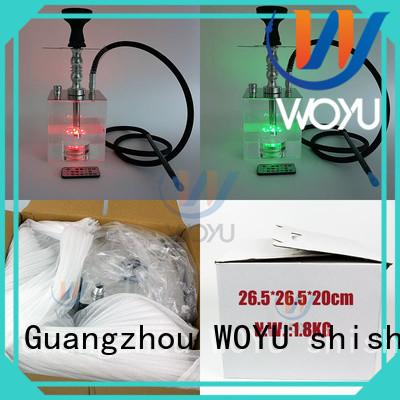 new acrylic shisha manufacturer for smoker