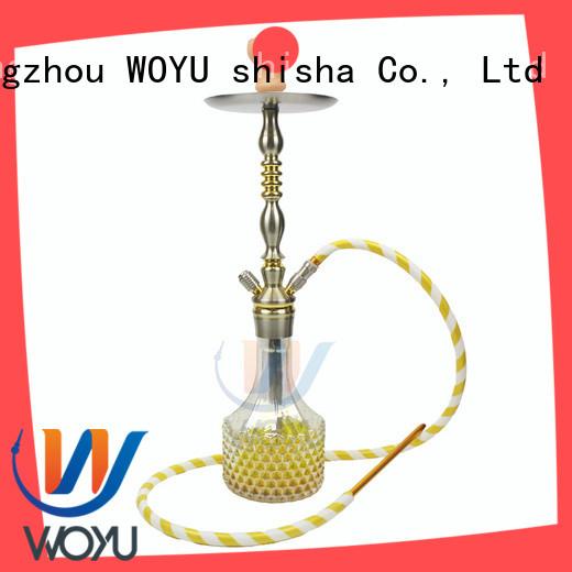 custom aluminum shisha supplier for pastime