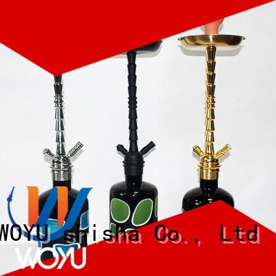 WOYU high quality zinc alloy shisha supplier for wholesale