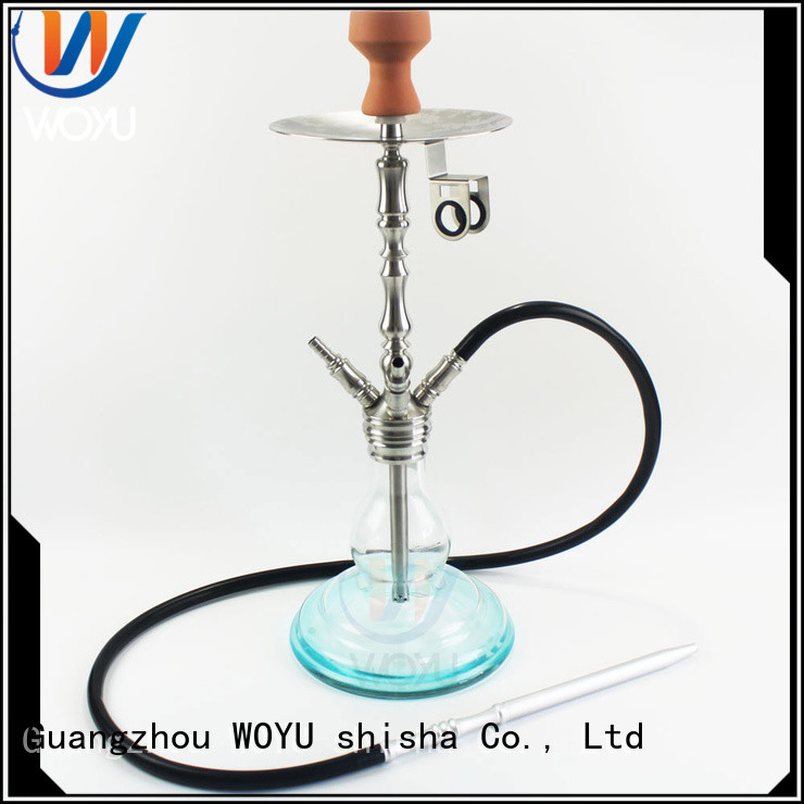 fashion stainless steel shisha manufacturer for smoking