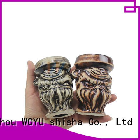 WOYU 100% quality electronic hookah bowl design for travelers