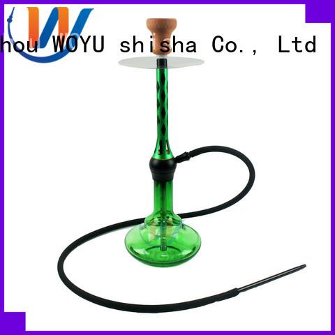 WOYU new aluminum shisha supplier for smoking