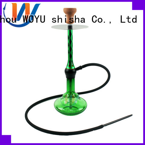 WOYU new aluminum shisha supplier for smoking