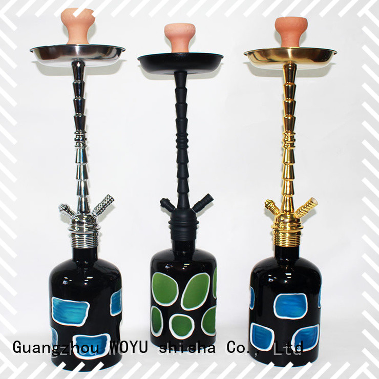 WOYU zinc alloy shisha supplier for wholesale
