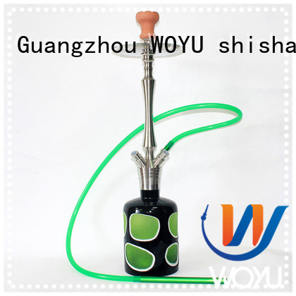 WOYU fashion stainless steel shisha supplier for pastime