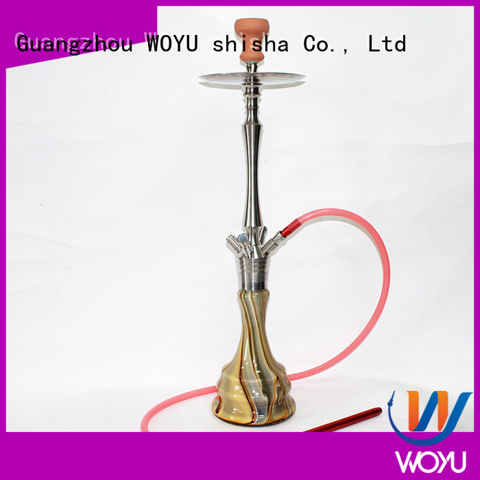 fashion stainless steel shisha factory for pastime