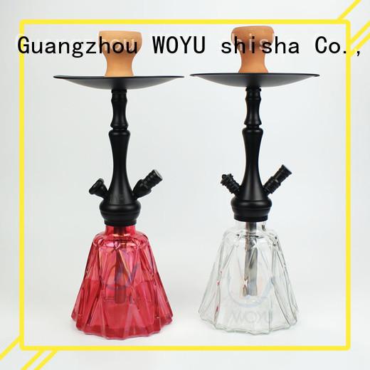 WOYU personalized zinc alloy shisha supplier for smoker