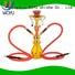 WOYU high quality iron shisha manufacturer for smoking