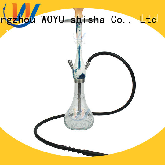 WOYU custom wooden shisha factory for smoking