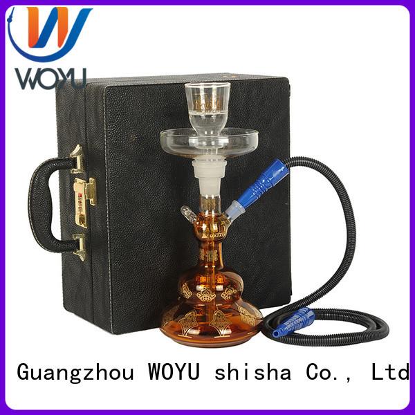 WOYU glass shisha manufacturer for smoking