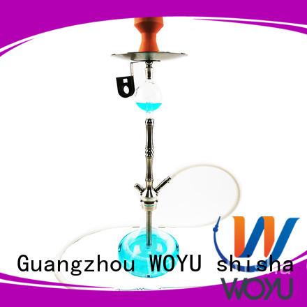 WOYU fashion stainless steel shisha manufacturer for smoker
