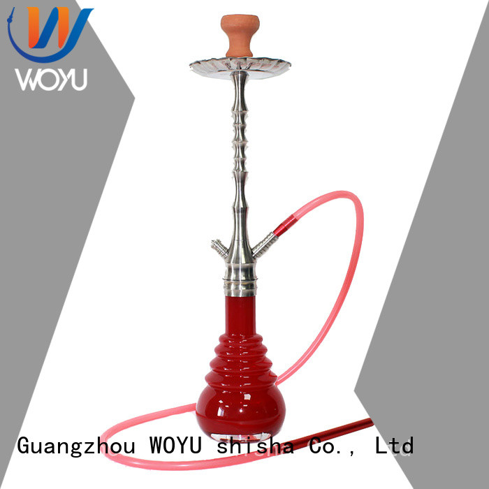 WOYU fashion stainless steel shisha manufacturer for smoking
