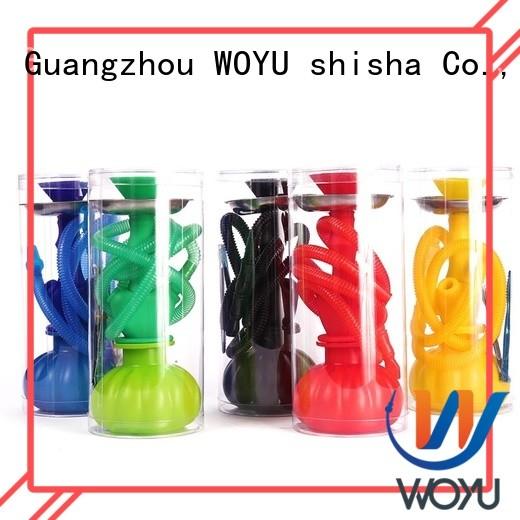 WOYU silicone shisha factory for smoker