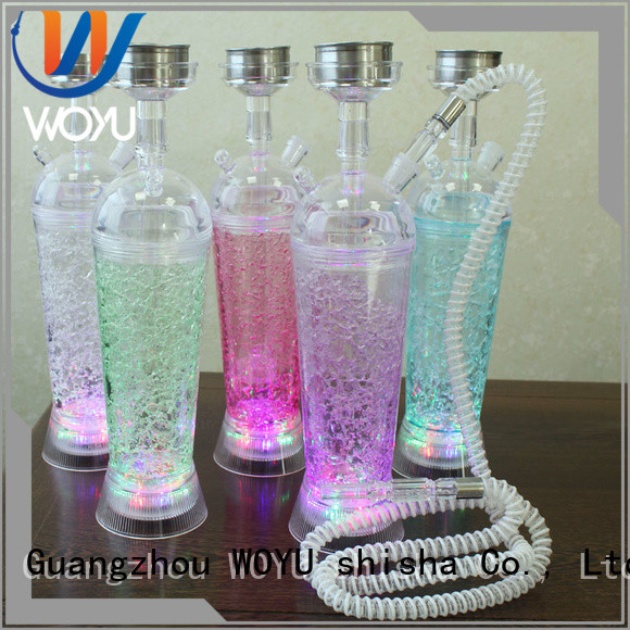 WOYU custom acrylic shisha manufacturer for pastime