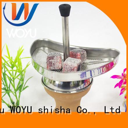 WOYU coal holder factory for smoker
