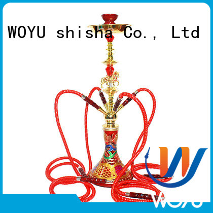 WOYU custom iron shisha supplier for pastime