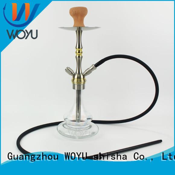 fashion aluminum shisha manufacturer for smoking