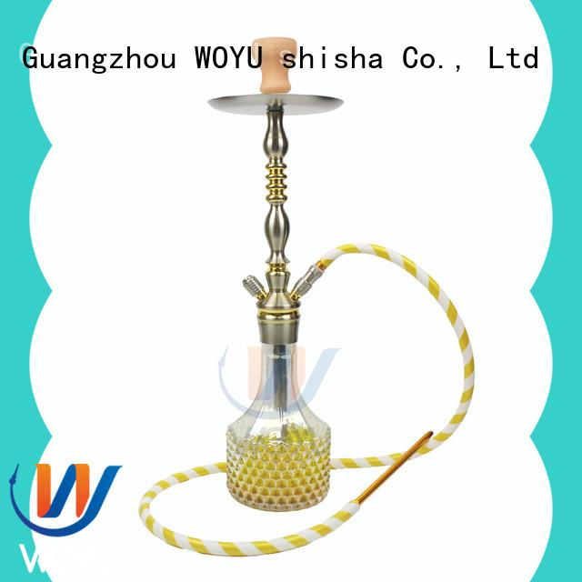fashion aluminum shisha manufacturer for pastime