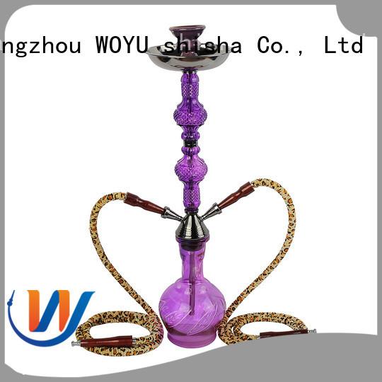 WOYU custom iron shisha factory for smoking