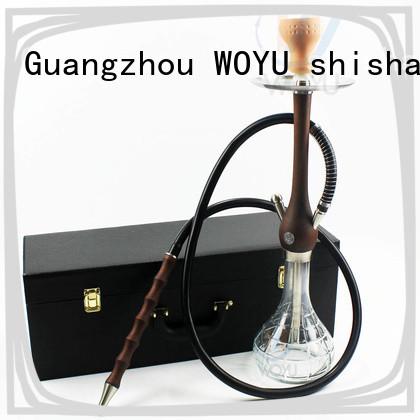 WOYU wooden shisha customization for smoker