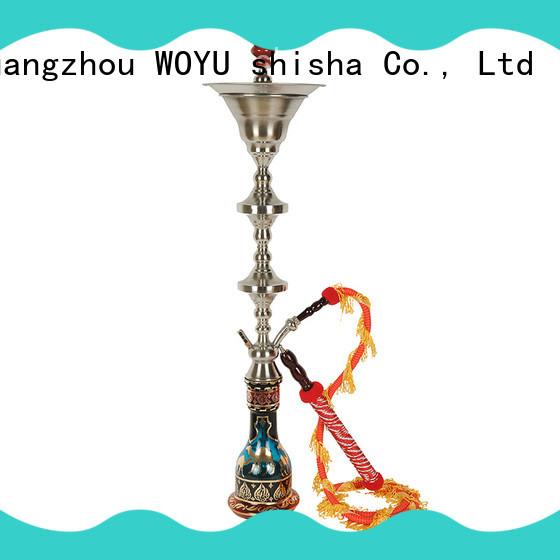 WOYU inexpensive stainless steel shisha manufacturer for smoker
