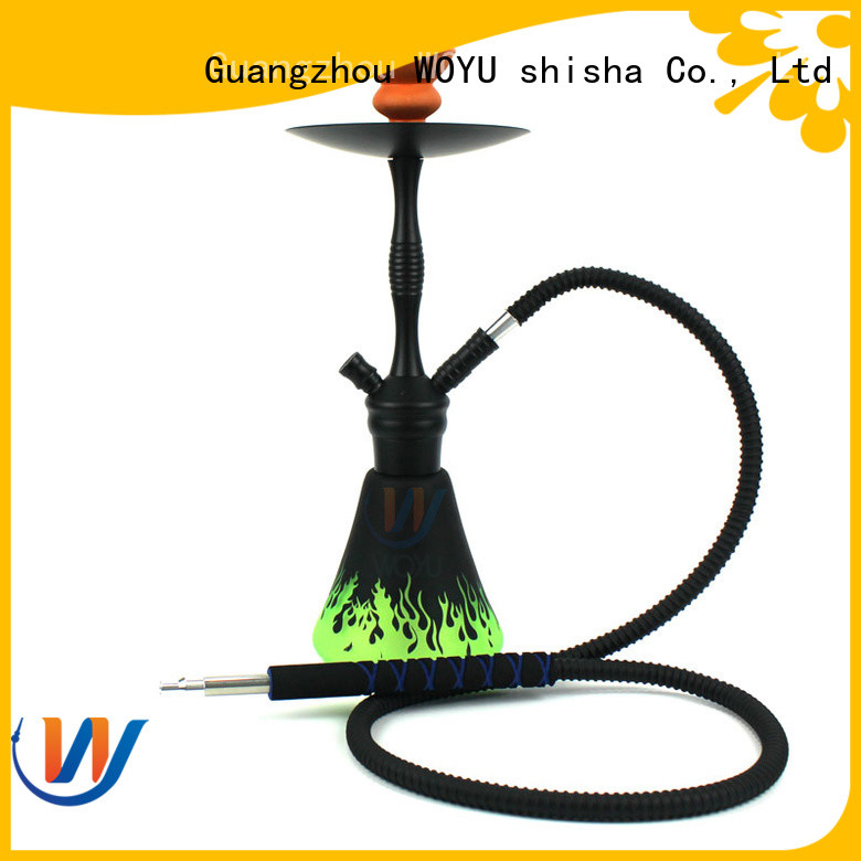 WOYU new aluminum shisha factory for pastime