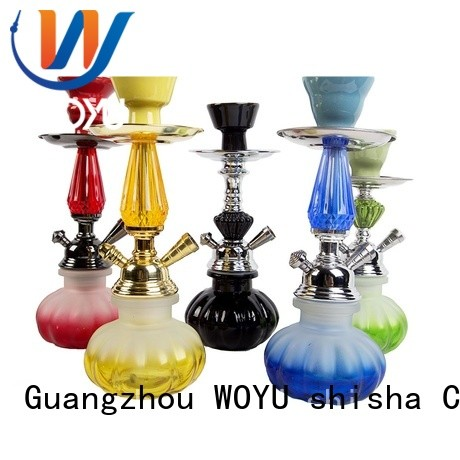 WOYU high quality iron shisha factory for pastime