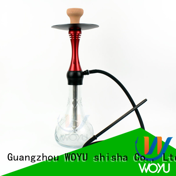 WOYU custom aluminum shisha factory for smoking