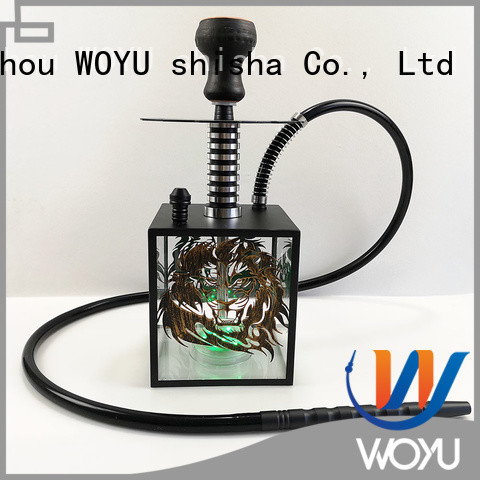 WOYU new acrylic shisha products for smoker