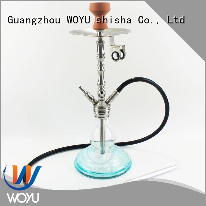 WOYU new stainless steel shisha manufacturer for smoker