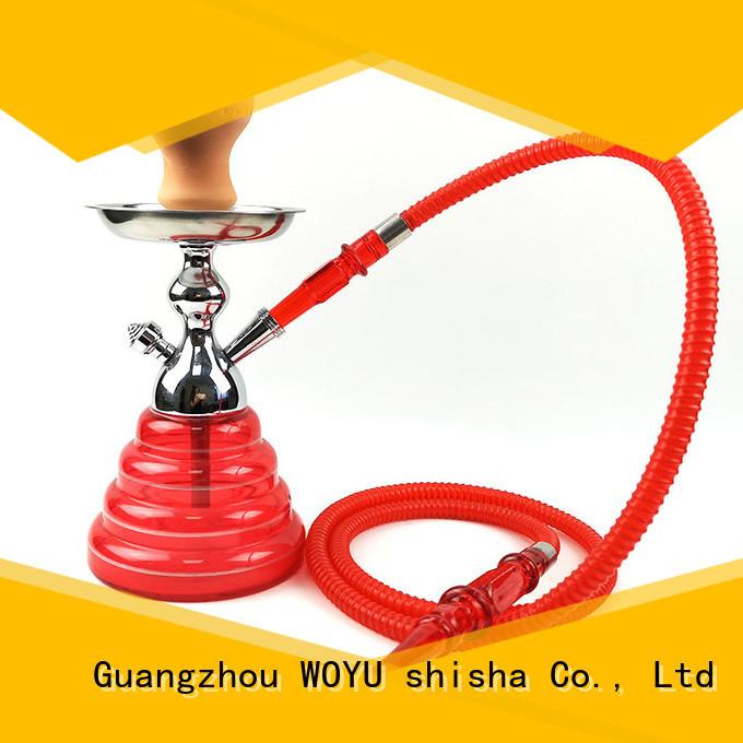 WOYU best-selling zinc alloy shisha factory for smoker