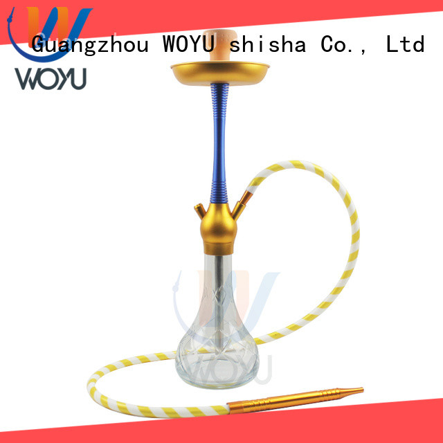 WOYU aluminum shisha factory for smoker