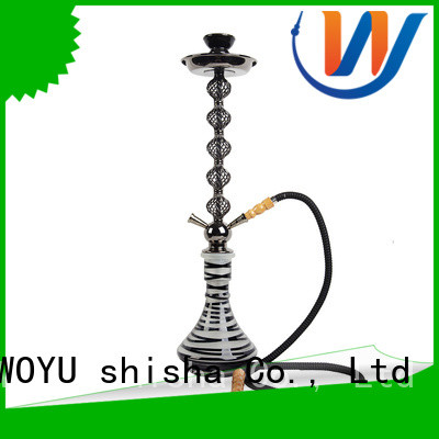 WOYU custom iron shisha manufacturer for pastime