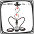 high standard iron shisha supplier for smoker