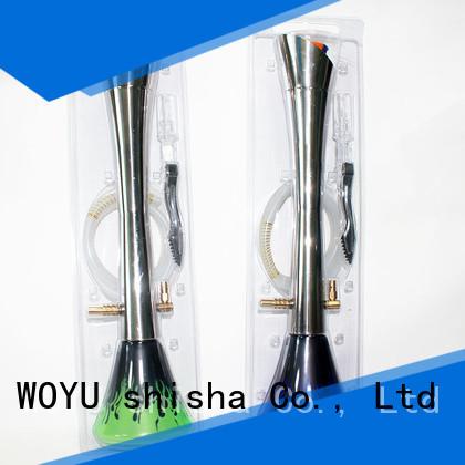 WOYU traditional stainless steel shisha manufacturer for smoking