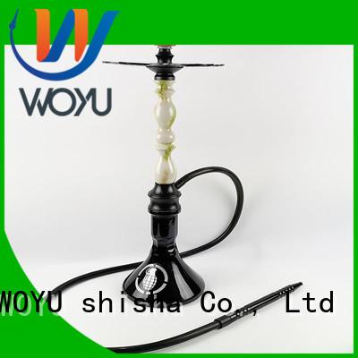 WOYU high quality zinc alloy shisha supplier for sale