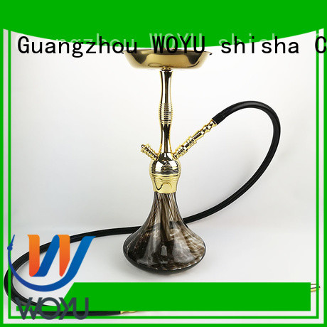 WOYU custom zinc alloy shisha factory for sale