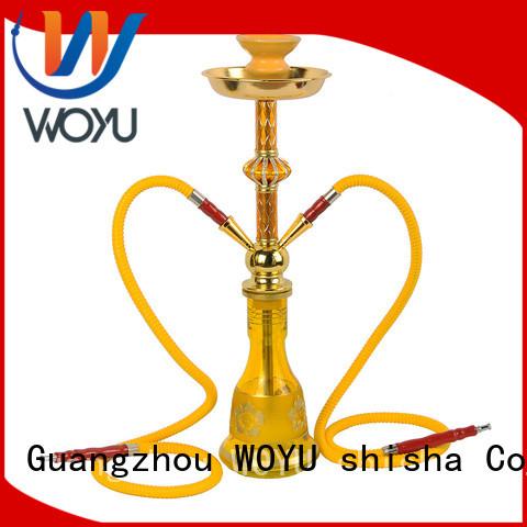 WOYU new iron shisha manufacturer for smoking