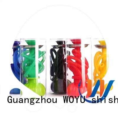 WOYU silicone shisha manufacturer for smoking