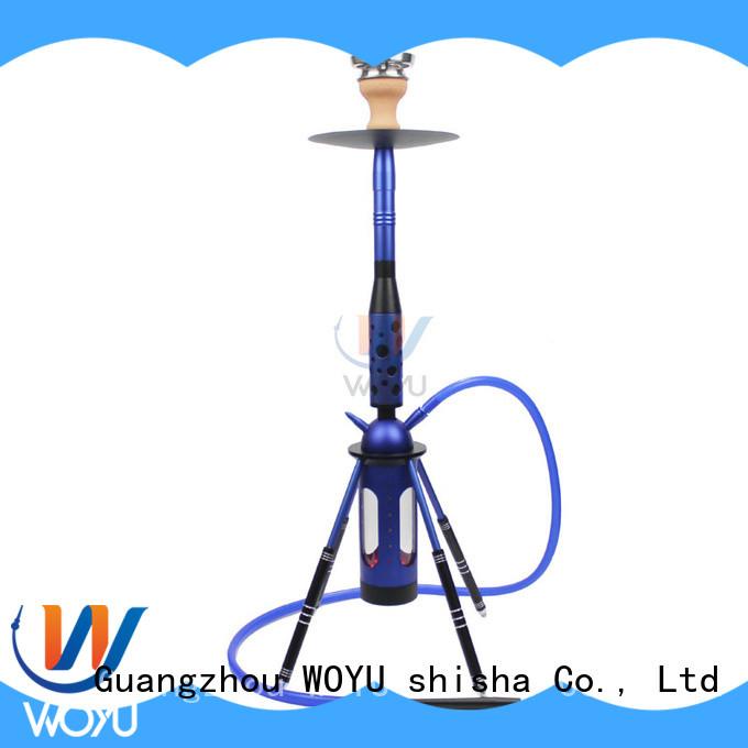 new aluminum shisha factory for smoking